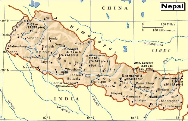mapanepal
