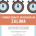 I TORNEO DEBATE INTERESCOLAR ZALIMA