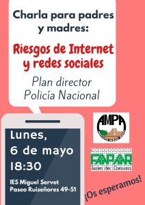 Riesgos de Internet y Redes sociales