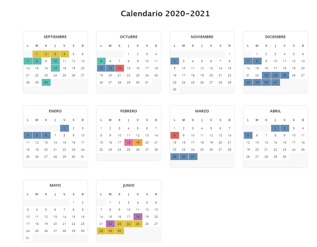 calendario 20-21