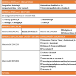 4º ESO Académicas